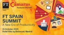 Incyde patrocina el evento FT Spain Summit 2015